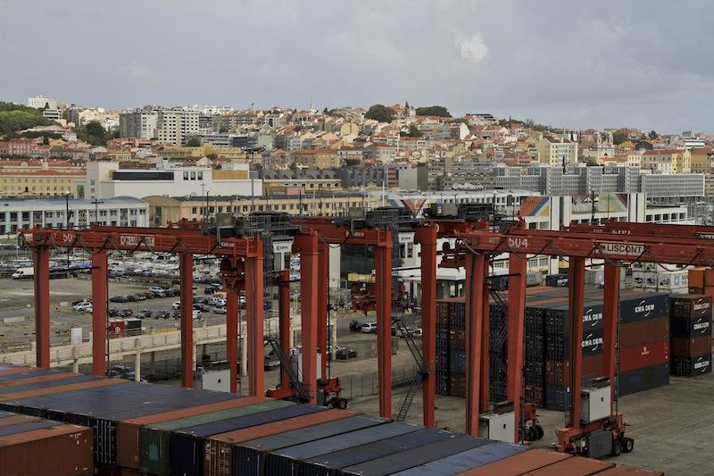 Kreuzfahrtschiff Hafen