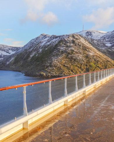 Mitternachtssonne Norwegen Nordkap Kreuzfahrt
