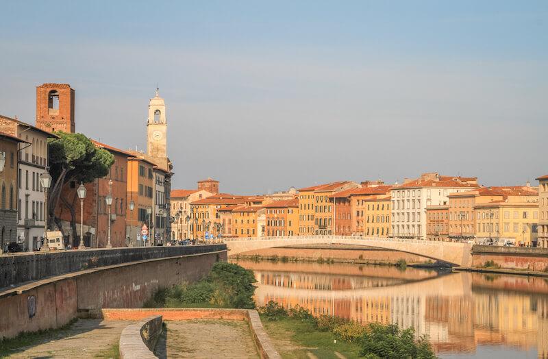 Toskana im Herbst Pisa Italien