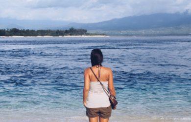 Gili Trawangan Bali Indonesien