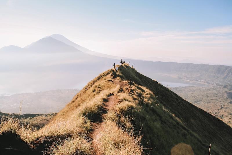 Mount Batur Bali Abstieg