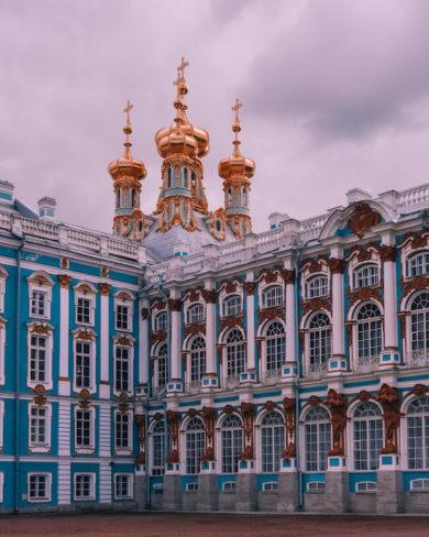 St Petersburg Katharinenpalast