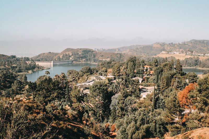 Stausee Hollywood Hills