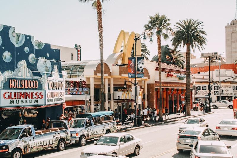 Westküste USA Los Angeles Hollywood