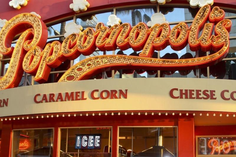 Popcorn in LA