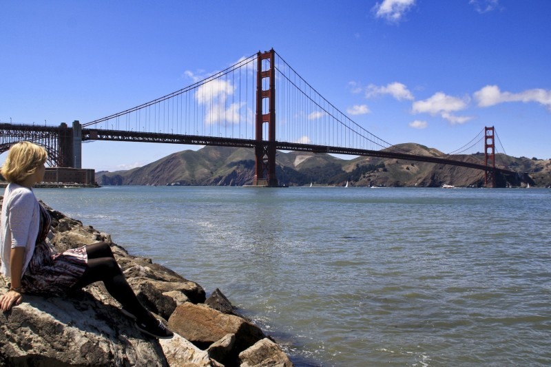 Die Golden Gate Bridge im Sommer 2011