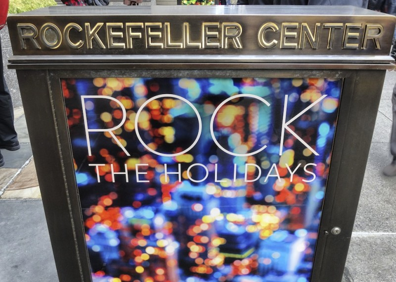 New York Rockefeller Center Christmas