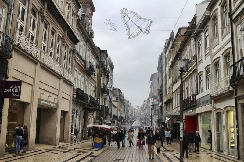Rua de Santa Catarina, die Haupteinkaufsstraße Portos.