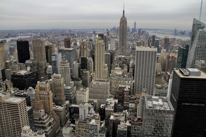 Die atemberaubende Aussicht vom Rockefeller Center