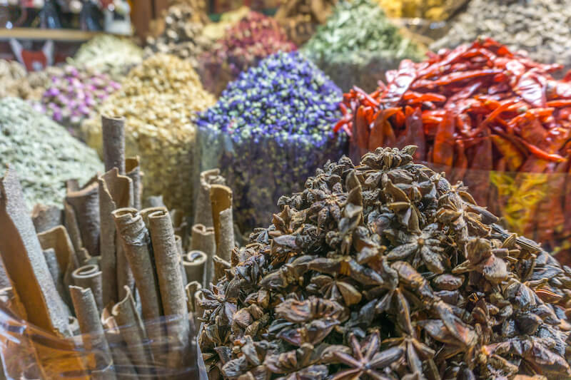 Dubai Creek Spice Souk