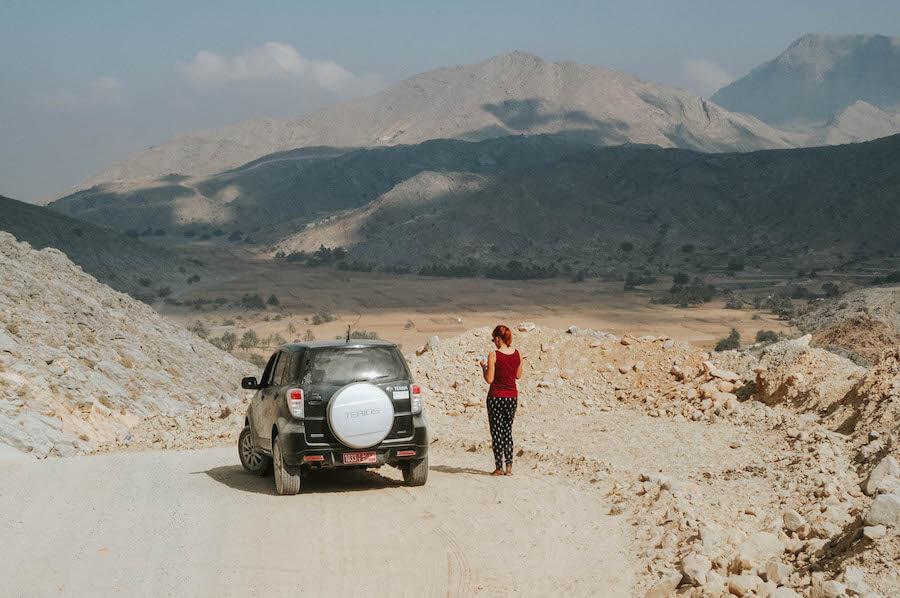 Khasab Hajar Gebirge Oman Musandam