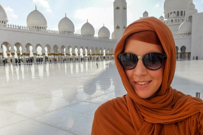 Scheich Zayed Moschee Abu Dhabi