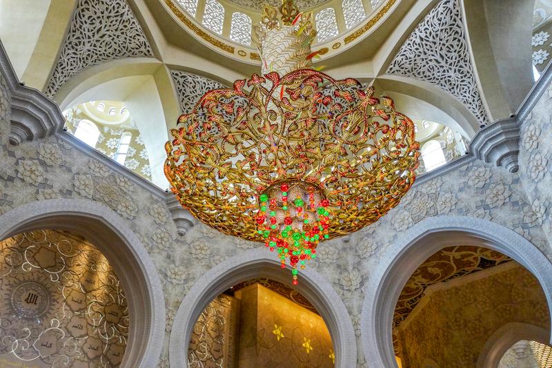Scheich Zayed Moschee Abu DhabiScheich Zayed Moschee Abu Dhabi