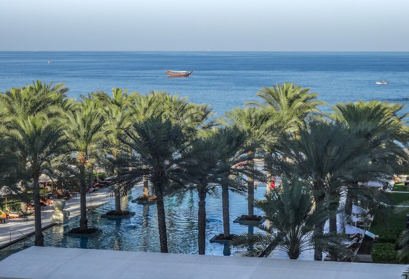 Al Bustan Palace Hotel Muscat Oman