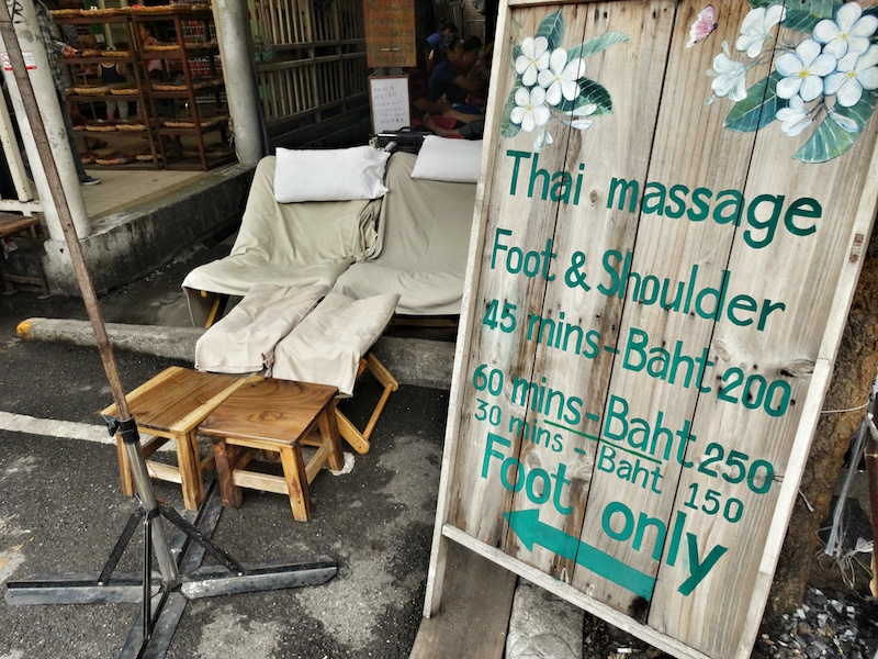 Thai Massage Bangkok Thailand