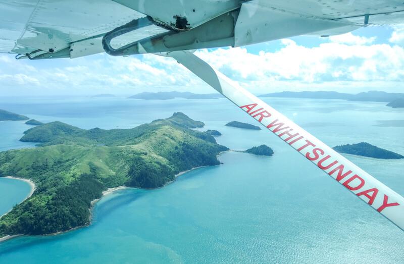 Whitehaven Beach Air Whitsunday Australien