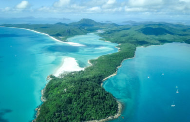 Whitehaven Beach Whitsunday Islands Australien