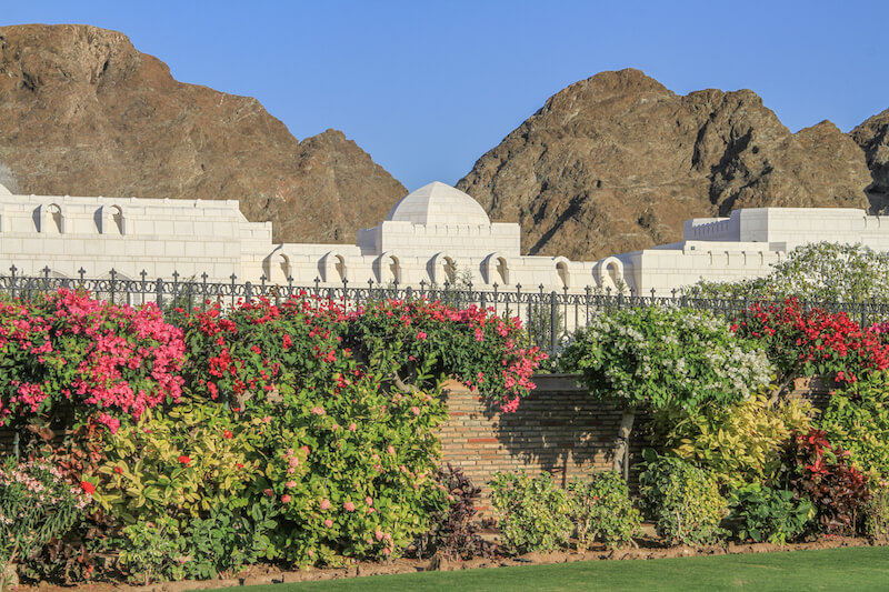 oman-muscat-sultanspalast