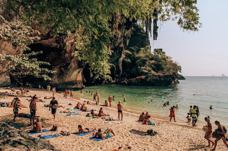 Railay Phra Nang Cave Beach