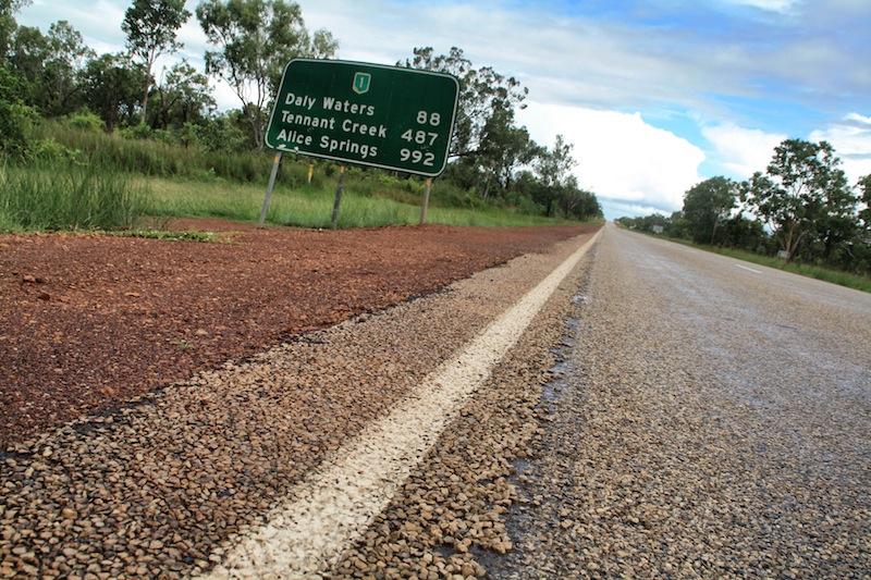 Australien Stuart Highway