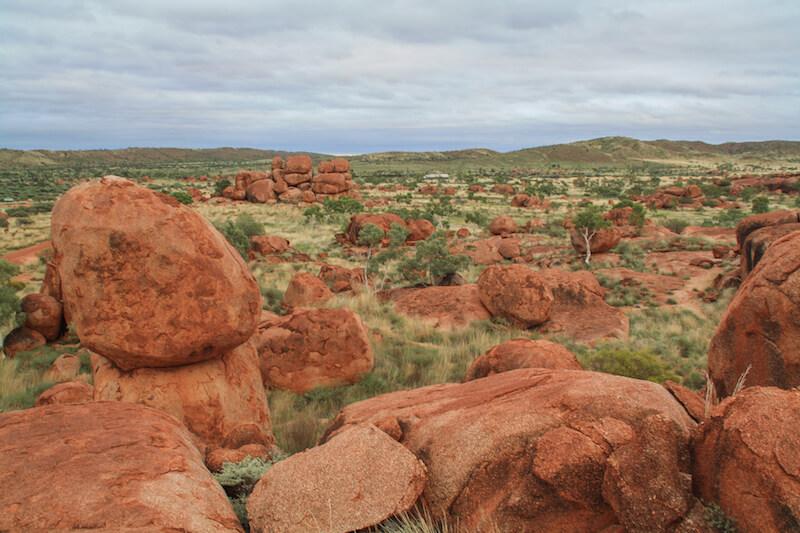 Ayers Rock Devils Marbles Australien Outback