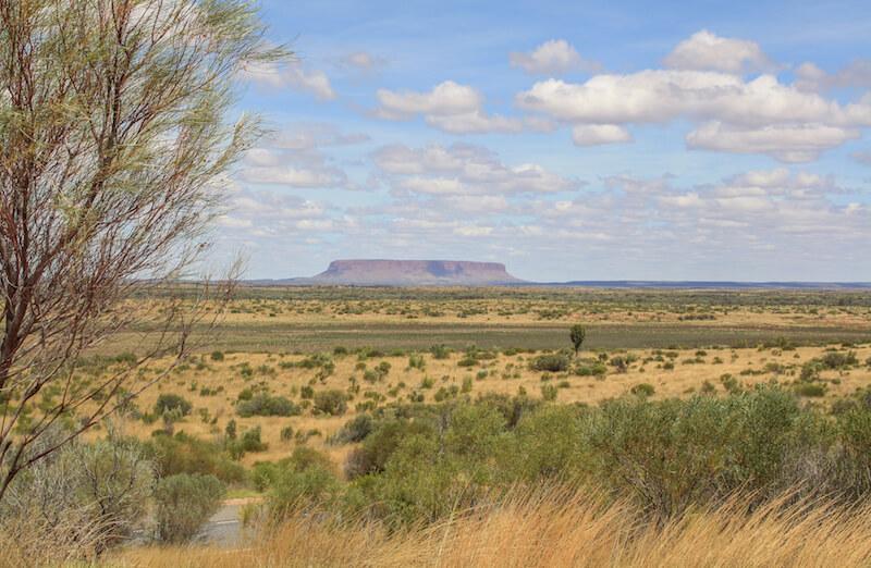 Ayers Rock Mount Conner Australien