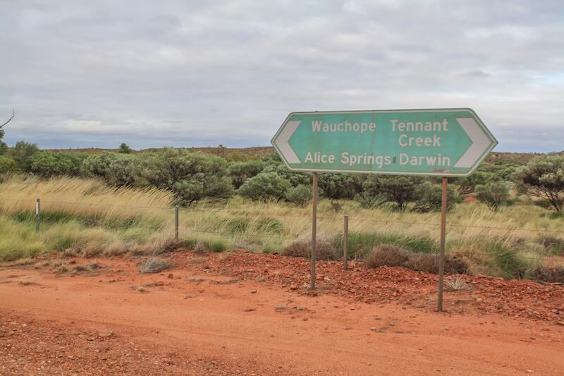 Ayers Rock Outback Roadtrip Australien