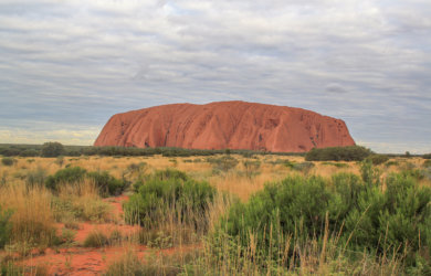 Ayers Rock Roadtrip Australien Outback