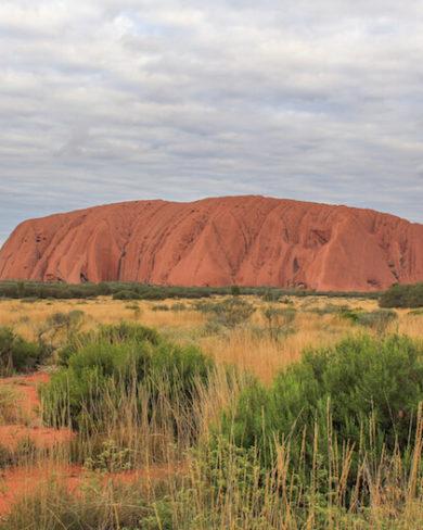 Ayers Rock Roadtrip Australien Outback