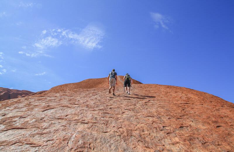 Ayers Rock Uluru Australien Outback