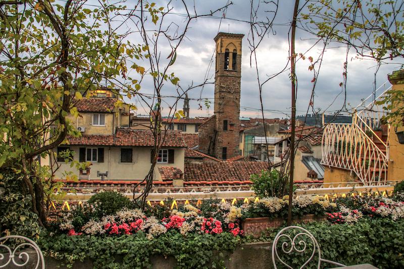 Dachterrasse Florenz Italien