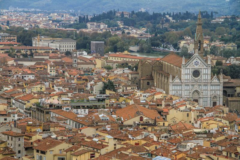 Florenz Ausblick Dom
