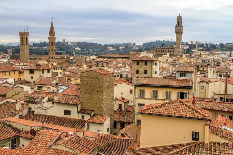 Florenz Dom Ausblick