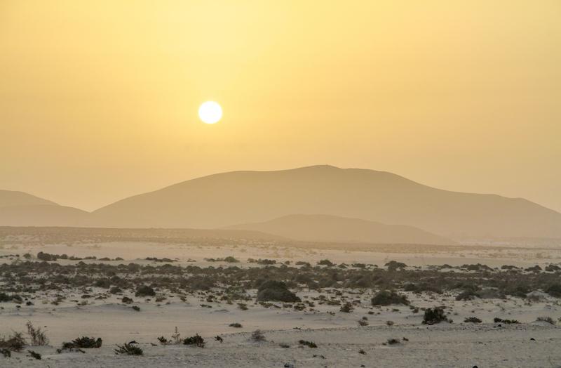 Fuerteventura Parque Natural de Corralejo