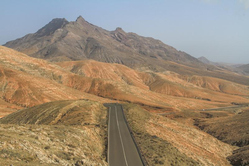 Fuerteventura Monumento Natural de Montana Cardon