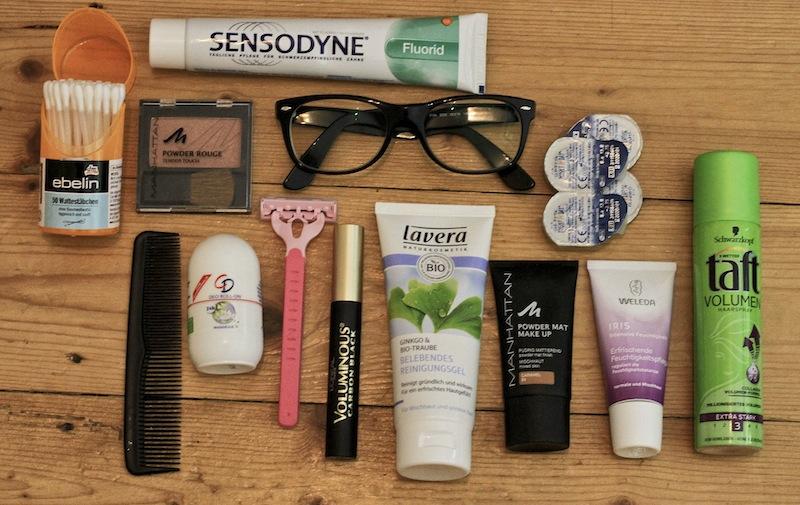 Packliste Kosmetik
