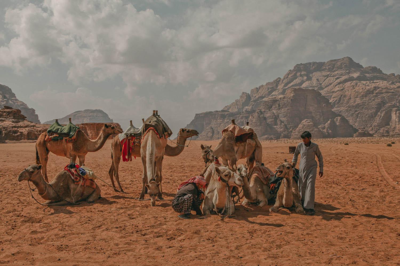 Wadi Rum Jordanien Jeepsafari
