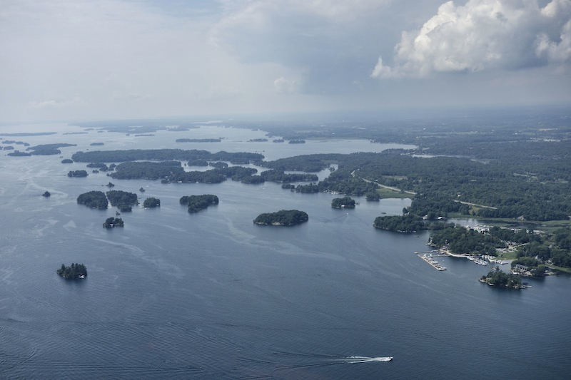 1000 Islands Helikopter