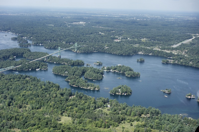 1000 Islands Kanada USA