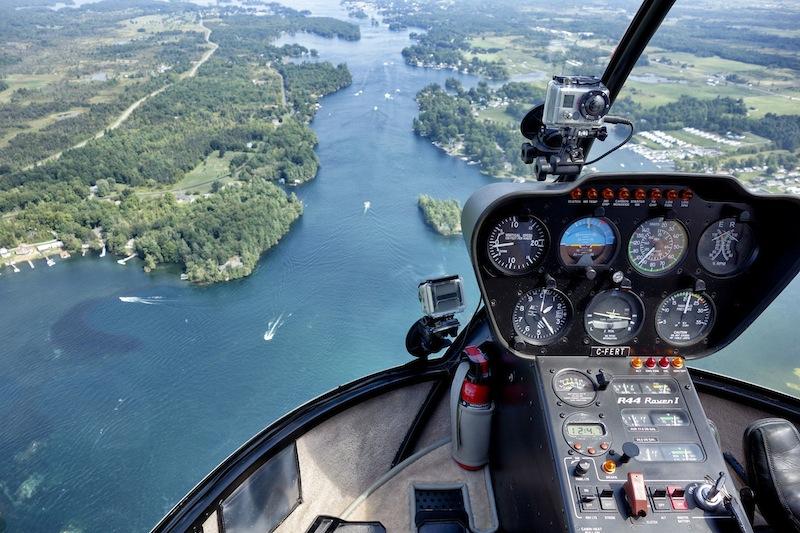 Im Helikopter über die 1000 Islands (USA & Kanada)