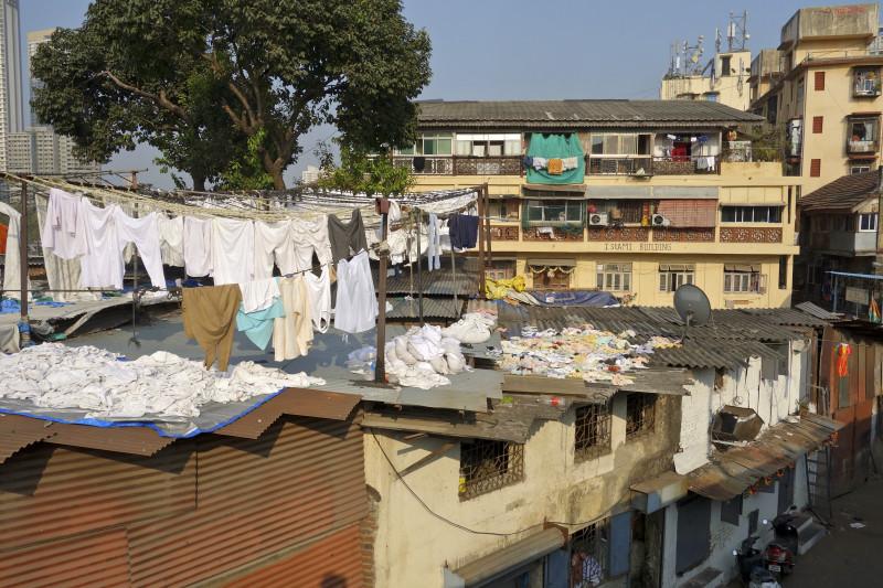 Indien Mumbai Dhobi Ghat