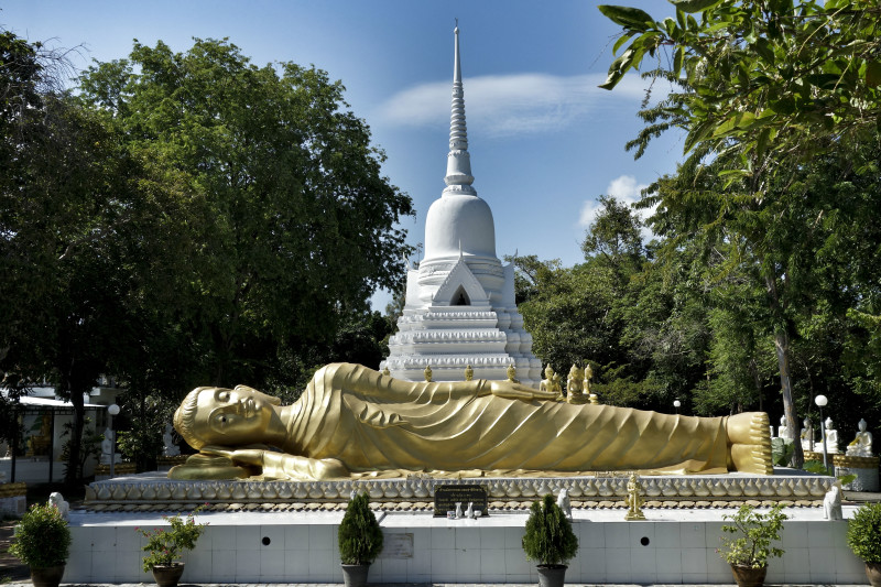 Wat Khao Chedi Koh Samui