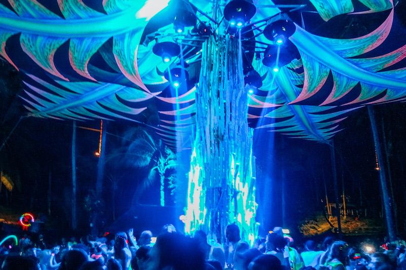 Full Moon Party Koh Phangan Half Moon Festival