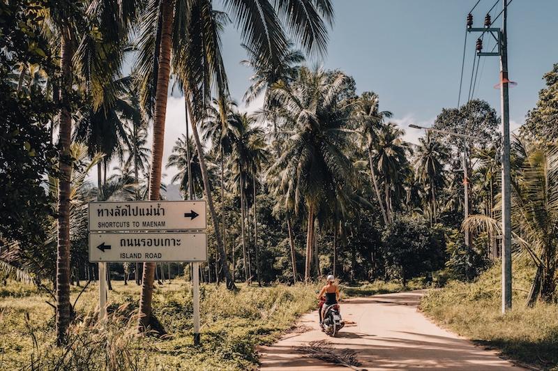Koh Samui Shortcut Road