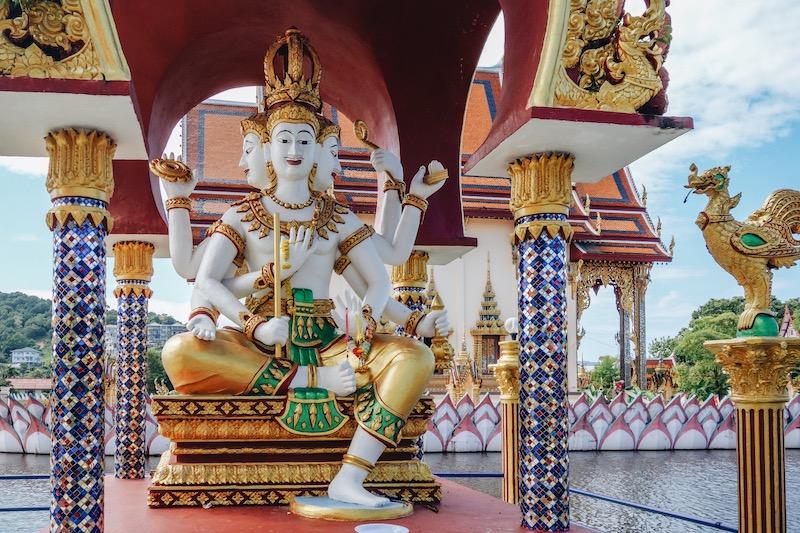 Koh Samui Wat Plai Laem Tempel
