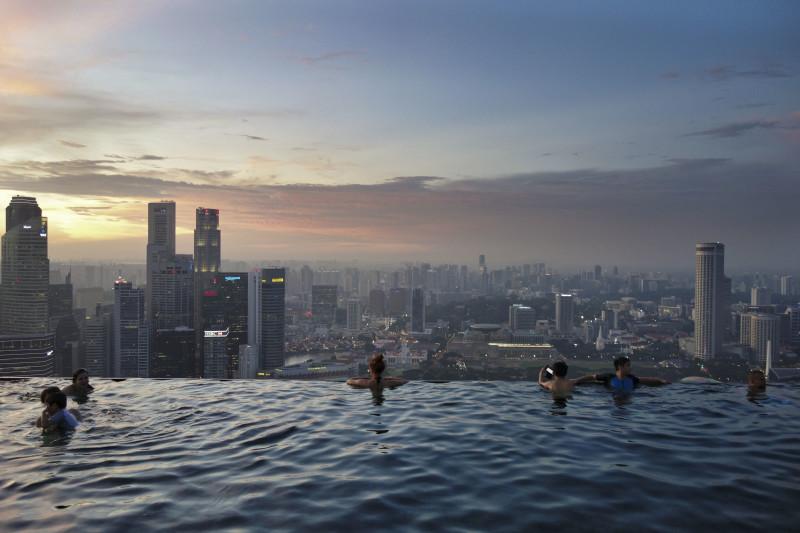Marina Bay Sands - Im berühmtesten Infinity Pool der Welt