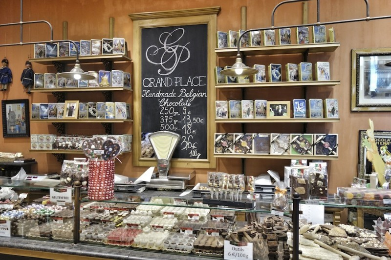 Brüssel Schokolade