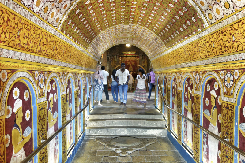 Kandy Tempel Sri Lanka