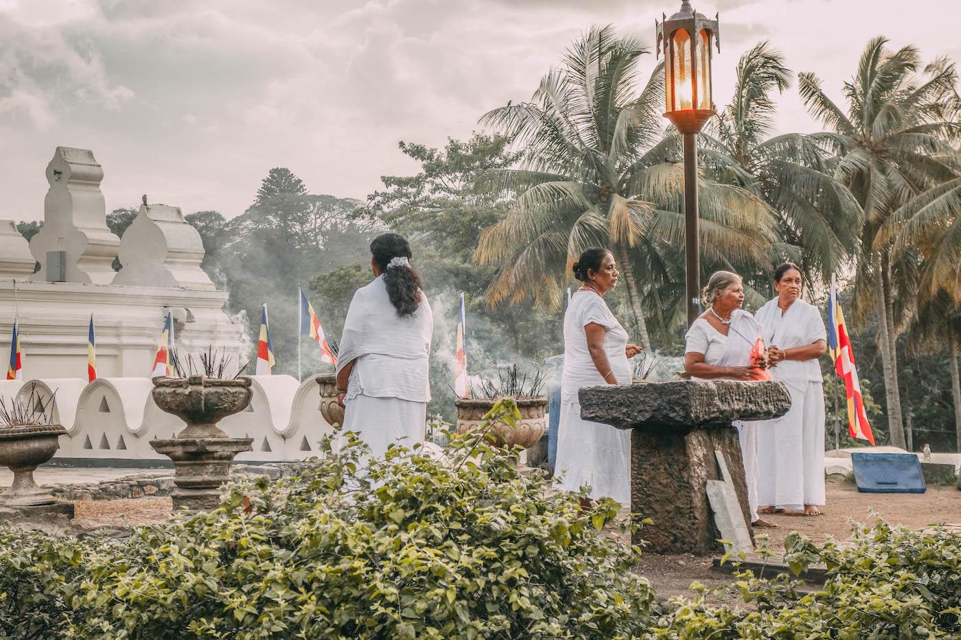 Zahntempel Kandy Sri Lanka