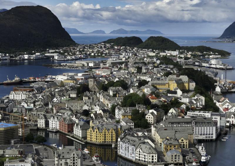 Alesund Norwegen